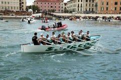 划船竞争 库存照片