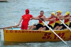 划船竞争 库存图片