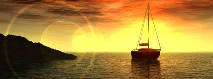 划船3 免版税库存照片