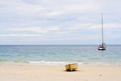 划艇风船 图库摄影