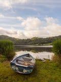 划艇, Grasmere,湖区 库存图片