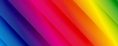 Colorful green yellow orange red purple blue twill background vector design. Tech background vector design stock illustration