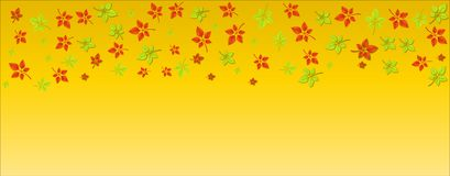 Autumn leaf vector illustration design.beautiful autumn leaves vector. royalty free illustration
