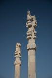 列在Persepolis 免版税图库摄影