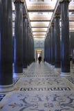 列大厅宫殿二十冬天 库存照片
