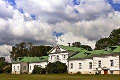 列夫・托尔斯泰的庄园在俄罗斯 免版税库存图片
