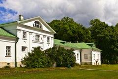 列夫・托尔斯泰的庄园在俄罗斯 免版税库存照片