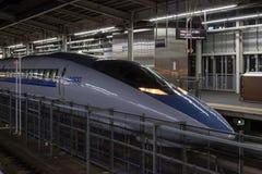 500系列子弹(高速, Shinkansen)火车 库存照片