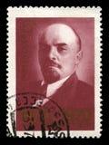 列宁俄国邮票 库存图片