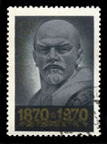 列宁俄国邮票 免版税图库摄影