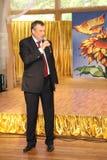 列宁格勒地区亚历山大Drozdenko州长  库存图片