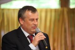 列宁格勒地区亚历山大Drozdenko州长  免版税库存照片