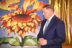 列宁格勒地区谢尔盖Yakhnyuk的付总裁v 免版税库存照片