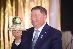 列宁格勒地区谢尔盖Yakhnyuk的付总裁v 免版税库存图片