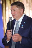 列宁格勒地区谢尔盖Yakhnyuk的付总裁v 库存照片