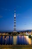 列宁格勒Radiotelevision传输Cente的电视塔 库存图片