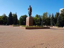 列宁的纪念碑 免版税库存图片