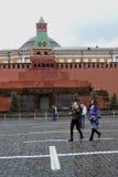 列宁的陵墓在莫斯科,俄罗斯 免版税图库摄影
