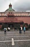 列宁的陵墓在莫斯科,俄罗斯 免版税库存图片
