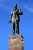 列宁纪念碑 免版税库存图片