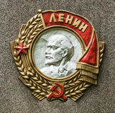 列宁苏联命令  库存照片