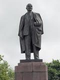 列宁雕塑 免版税库存照片