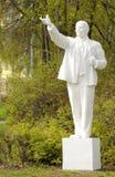 列宁雕象在苏联雕塑博物馆  免版税库存图片