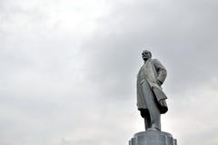 列宁雕象  库存照片