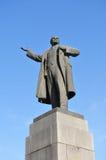列宁雕象 免版税库存照片