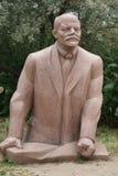 列宁-共产主义纪念碑-纪念品公园-布达佩斯 免版税图库摄影