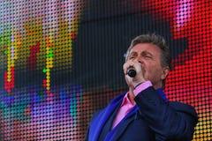列弗Leschenko —苏联和俄国歌手,软,长篇低男中音,男性天鹅绒口气 免版税图库摄影