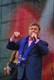 列弗Leschenko —苏联和俄国歌手,软,长篇低男中音,男性天鹅绒口气 库存图片