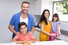系列愉快的厨房 免版税库存图片