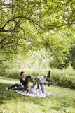 系列愉快的年轻人 免版税图库摄影