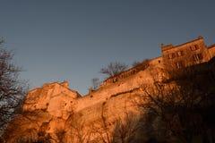 列斯Baux de普罗旺斯村庄, 免版税库存照片