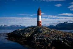 列斯Eclaireurs灯塔,乌斯怀亚,火地群岛,阿根廷 免版税库存图片