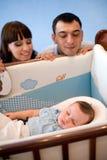 系列新出生的年轻人 免版税库存照片