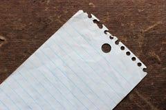 列表 免版税图库摄影