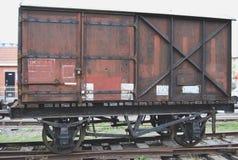 列车车箱在布里斯托尔 库存图片