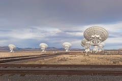列阵单选铁路运输望远镜 免版税库存照片