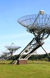 列阵荷兰无线电望远镜westerbork 库存图片