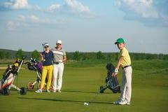 系列高尔夫球使用 免版税图库摄影