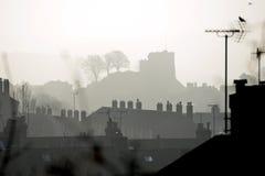 刘易斯城堡 免版税库存照片