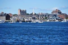 刘易斯码头和商业码头 免版税库存照片