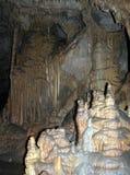 刘易斯&克拉克洞穴,蒙大拿 库存图片