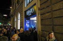 刘Jo Uomo商店在佛罗伦萨 免版税库存照片