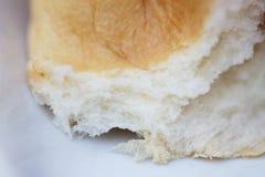 刚出炉的面包特写镜头  免版税库存照片