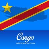 刚果独立日 库存图片