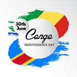 刚果独立日 免版税库存照片