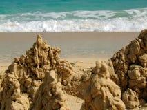 创建沙子 免版税库存图片